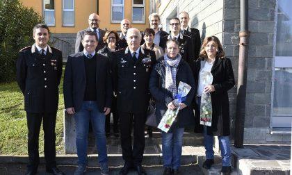 Treviglio: Il Generale di Divisione Teo Luzi in visita al Comando