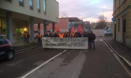 Treviglio: Presidio di protesta dei lavoratori della Kamila di Brignano – TreviglioTV