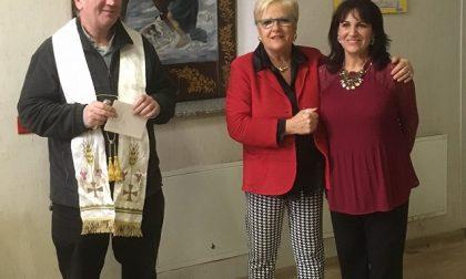San Martino e il povero: Mariella Mandelli dona la sua opera al Comune di Treviglio - TreviglioTV