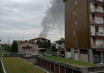 +FLASH+ Colorificio in fiamme a Ciserano – TreviglioTv