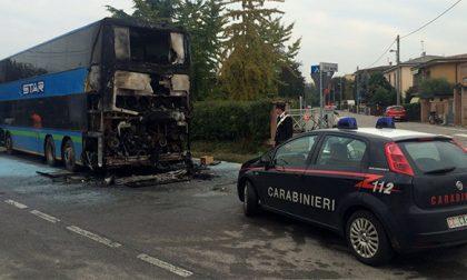 Agnadello : L'autobus prende fuoco, attimi di paura per gli studenti
