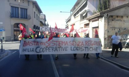 Treviglio – Contromanifestazione alla manifestazione dei facchini, c'è anche chi sta con l'azienda – Treviglio Tv