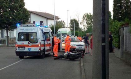 Pedone investito da una moto finisce in ospedale