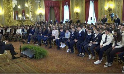 Gli studenti a lezione dal presidente della Repubblica - TreviglioTv