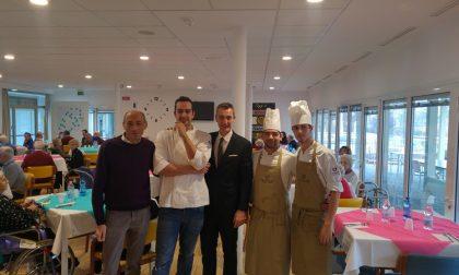 Treviglio: Gli chef del San Martino cucinano per gli ospiti della Casa di Riposo