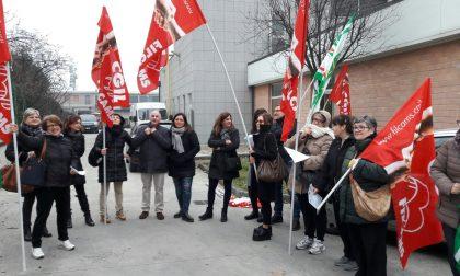 Treviglio: protestano i dipendenti della Gemeaz – TreviglioTV