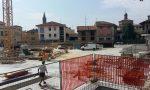 """Piazza Setti, quasi chiuso il """"buco"""" VIDEO e FOTO"""