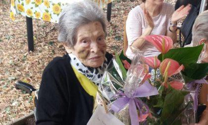 Natalina Bosis, la decana di Basella si è spenta a 102 anni