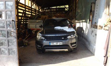 Auto di lusso rubate: tre arresti e maxi sequestro (nel fienile)