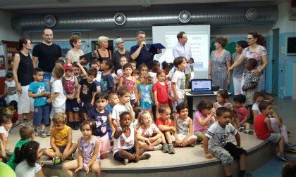 Campioni di sicurezza alla scuola dell' infanzia FOTO