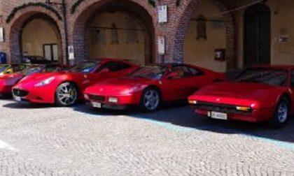 Il rosso Ferrari conquista Soncino