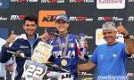 Motocross: Gianluca Facchetti è campione del mondo junior 125
