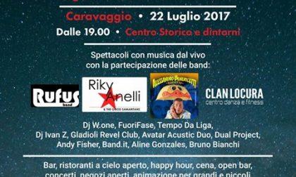 Notte in bianco...a Caravaggio si fa festa