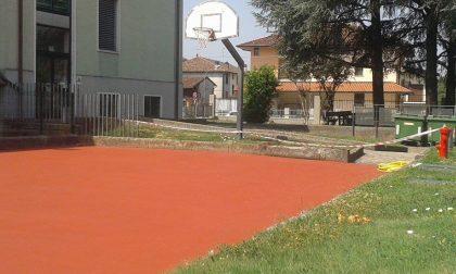 Alle scuole arriva il campo da basket e pallavolo