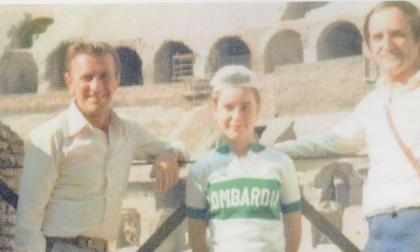 Addio a Pietro, patron del ciclismo ghisalbese