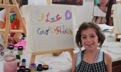 Bambini e colori, grande successo per il corso di pittura FOTO