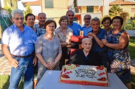 Luigia Benigni 105 anni