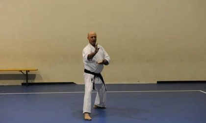 Scannabue piange Santino, storico maestro di karate