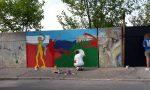Street art a  Zingonia: 70 giovani contro il degrado