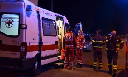 Schianto in città, due feriti a Bergamo – SIRENE DI NOTTE