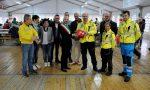 Calvenzano riceve in dono un defibrillatore per la palestra VIDEO