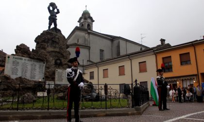 Pandino, inaugurato il restauro del monumento ai caduti FOTO e VIDEO