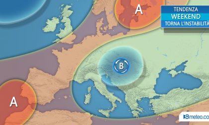 Meteo, nuova fase instabile: domenica probabili temporali