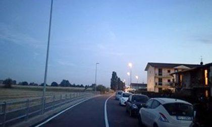 Via Roma a Calvenzano (ancora) al buio dopo il furto di rame
