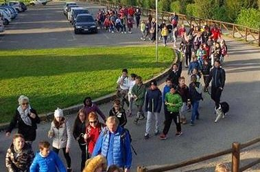 """""""Camminando s'impara"""", a scuola si va a piedi"""