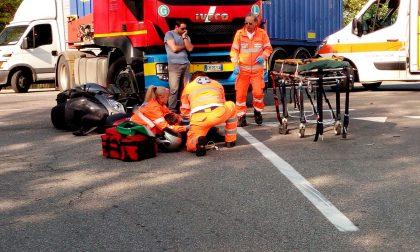 +FLASH+ Tir travolge uno scooter, ferito centauro sulla Rivoltana FOTO