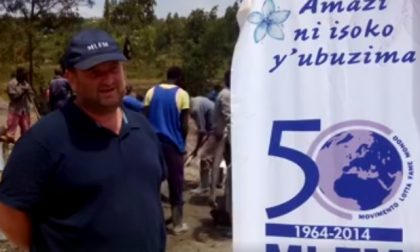 Dal Cre al Ruanda per costruire un nuovo acquedotto