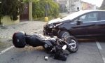 Sorpasso azzardato, in ospedale motociclista 19enne