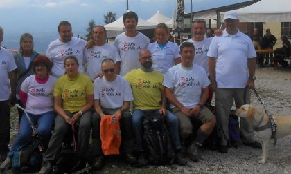 Non vedenti e scalatori, alla conquista delle Dolomiti