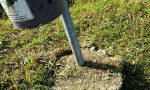 Vandali in azione, danni a cartelli e cestini sulla ciclabile
