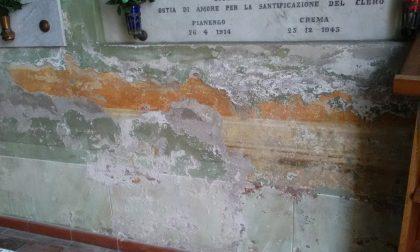 Chiesolina del cimitero in pezzi, serve il restauro FOTO