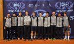 Tennis Crema sfida Pistoia per restare in A1