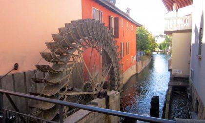 Mozzanica, le ruote dei mulini produrranno energia