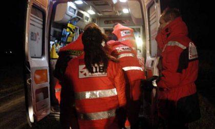 Caduta al centro sportivo, 61enne in ospedale SIRENE DI NOTTE