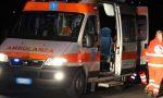 Ribaltamento a Calcinate, tre feriti in ospedale SIRENE DI NOTTE