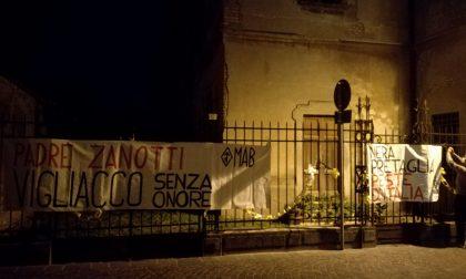 Stupro a Fontanella, raid neofascista contro padre Zanotti