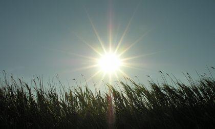 Nel weekend ultimi rovesci, poi vento e sole