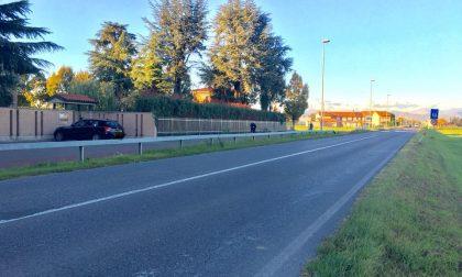 A nuovo l'asfalto, chiude la via Bergamo tra Treviglio e Arcene