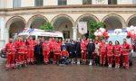Mele solidali in piazza con la Croce rossa