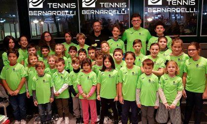 Tutti pazzi per il tennis e per il maestro Bernardelli