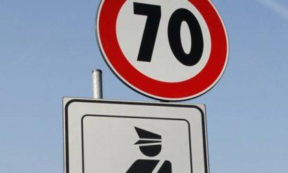 Sulla Rivoltana da Arzago a Mozzanica a 70 km/h