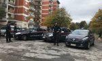 Blitz alle Quattro Torri di Zingonia a Verdellino