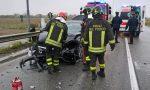 Scontro tra auto ferito anche un 13enne