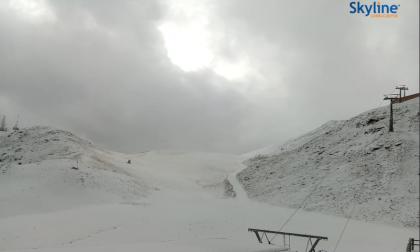 Ecco arrivata la prima neve di stagione FOTO