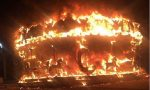 Giostra bruciata a Bergamo: è doloso? VIDEO