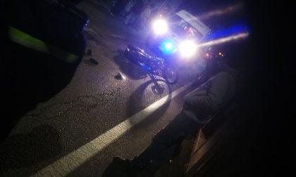 Scontro auto moto ferito un 15enne